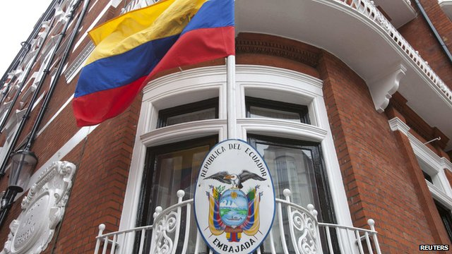 Ecuador Embassy in London