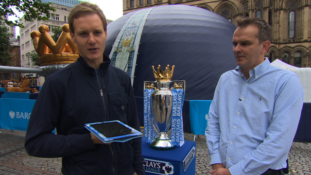 Dan Walker and Dietmar Hamann
