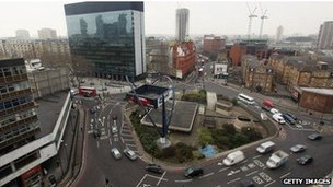 """Silicon Roundabout"""