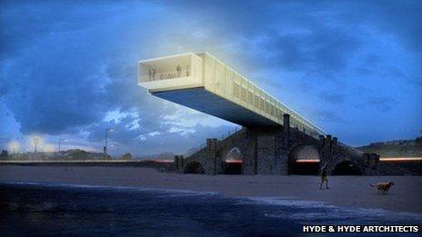 Design of the proposed slip bridge