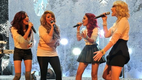 Little Mix on Top Of The Pops