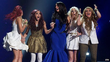 Little Mix, with mentor Tulisa, win the X Factor