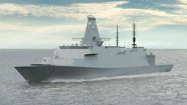 The Royal Navy's next generation warship