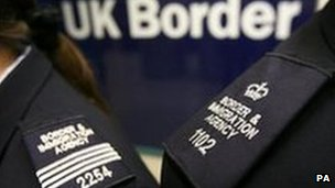 UK Border Agency officials 
