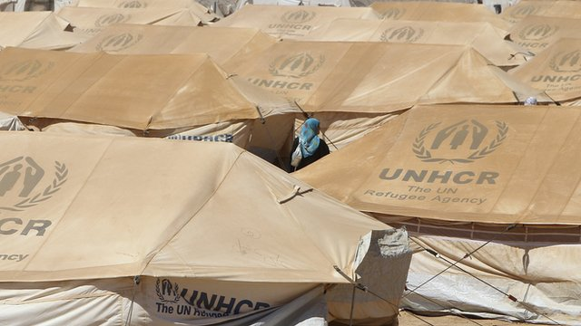 UNHCR tents 