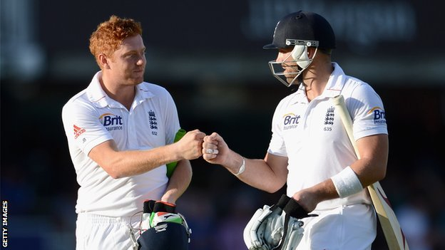 Jonny Bairstow and Matt Prior