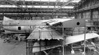 Saunders Roe Princess being constructed