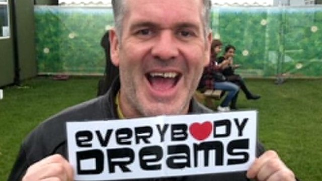 Chris Moyles supports Everybody Dreams