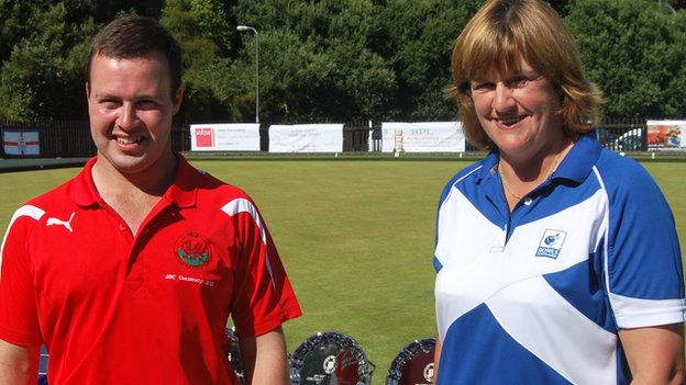 Andrew Hopkins and Sheila Douglas