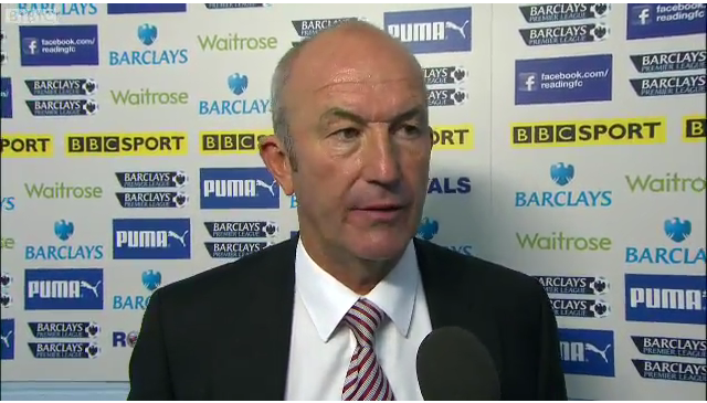 Stoke boss Tony Pulis