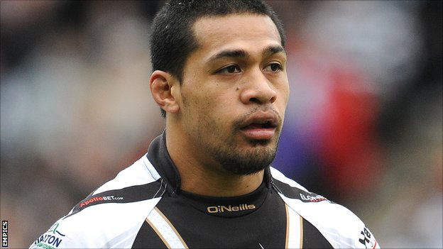 Widnes Vikings winger Willie Isa