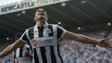 Hatem Ben Arfa celebrates scoring Newcastle's winner