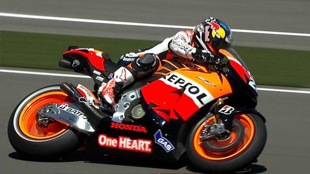 BBC Sport - Indianapolis MotoGP: Casey Stoner declared fit to race