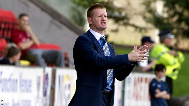 St Johnstone manager Steve Lomas