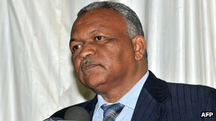 Ghazi al-Sadiq Abdel Rahim at swearing in ceremony (9 Jul 12)