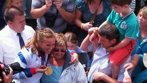 Helen Glover in Penzance