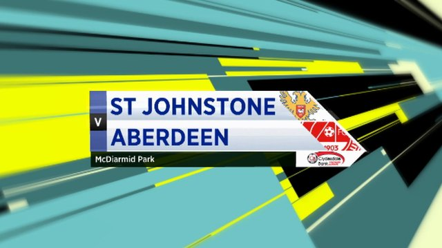 Highlights - St Johnstone 1-2 Aberdeen