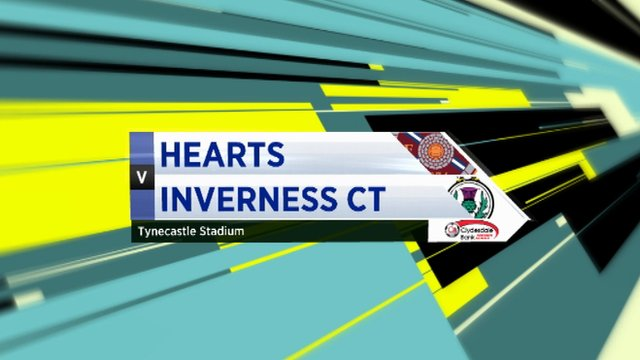 Highlights Hearts 2-2 Inverness CT