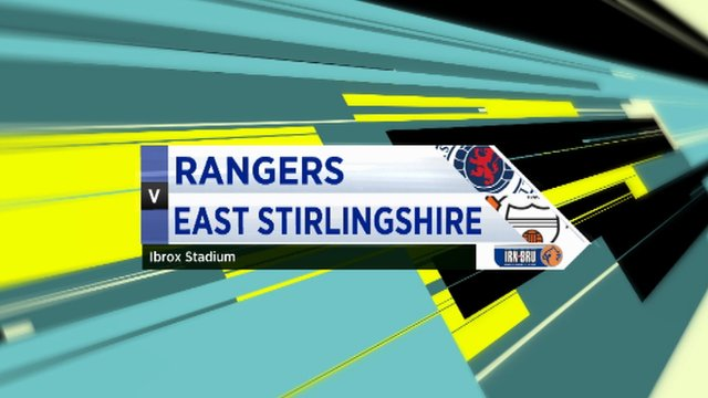 Highlights - Rangers 5-1 East Stirlingshire