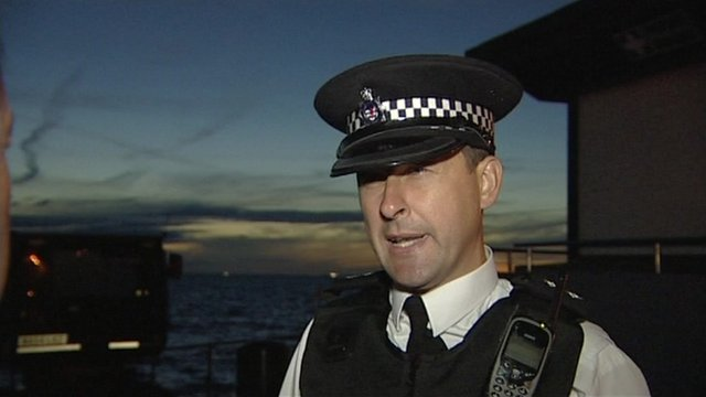 Inspector Mark West, from Avon and Somerset Police