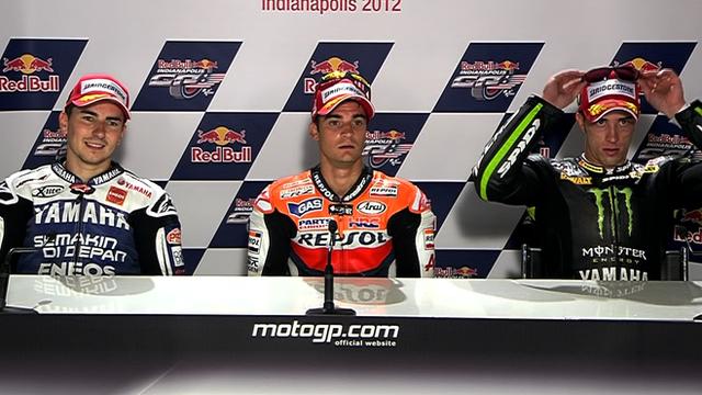Indianapolis MotoGP: Top three riders