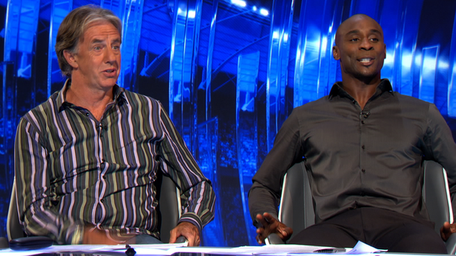 Mark Lawrenson and Jason Roberts