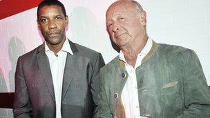 Denzel Washington and Tony Scott