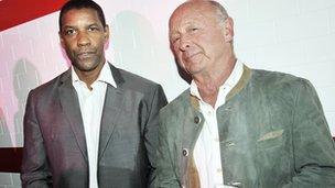 Denzel Washington and Tony Scott