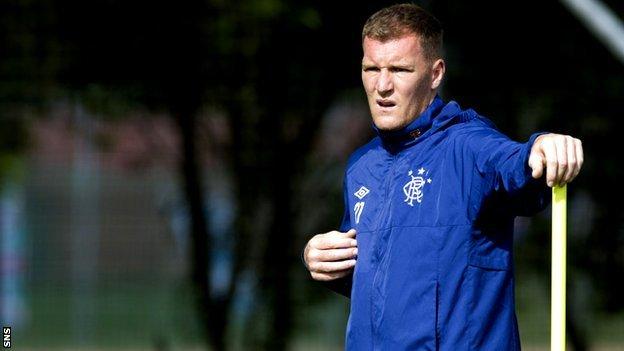 Rangers striker Kevin Kyle