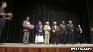 Mrs Padden at Iran&#039;s inaugural interpreting conference