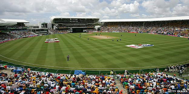 The Kensington Oval in Bridgetown