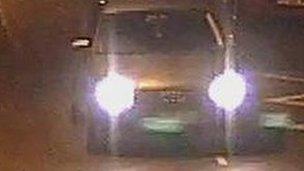 CCTV image of Audi A3
