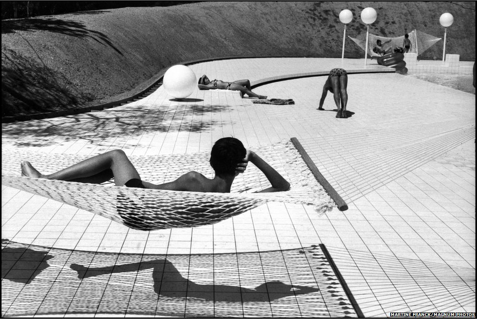 Pool designed by Alain Capeilleres, 1976. Le Brusc, Provence, France.