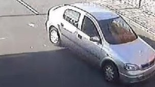 CCTV image of Vauxhall Astra