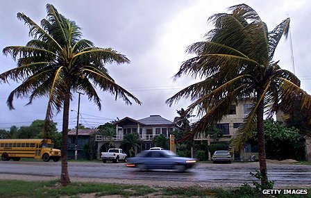 Storm hits Belize