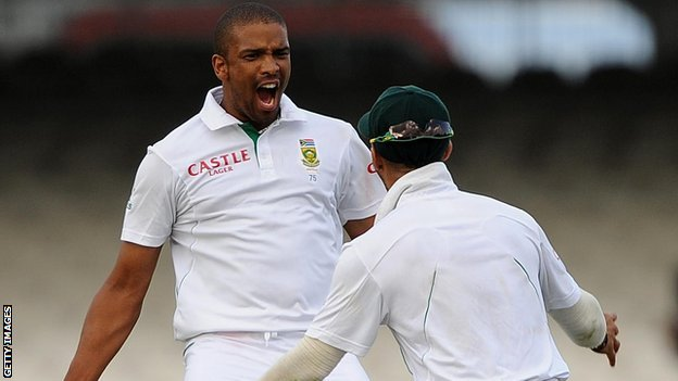 Vernon Philander and JP Duminy