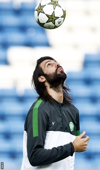 Samaras thinks Celtic had their eye on Europe as they drew in Dingwall