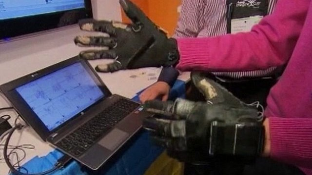 Gloves that can turn hand gestures into speech