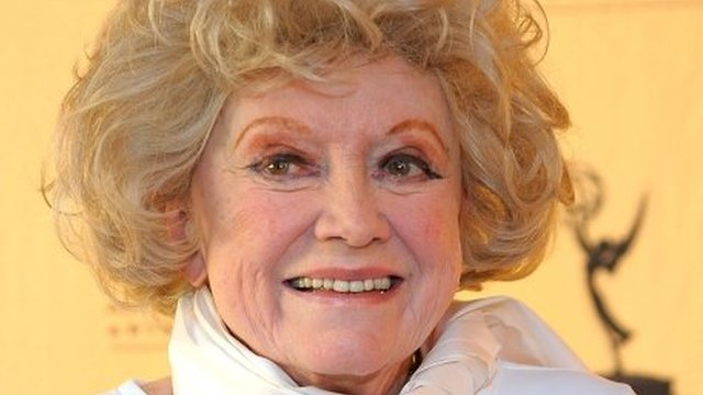 Phyllis Diller at the Leonard H Goldenson Theatre in North Hollywood, California 6 October 2008