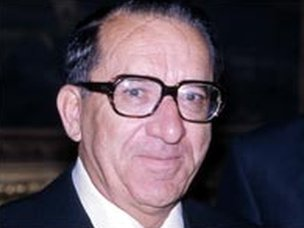 Dom Mintoff, former prime minister of Malta