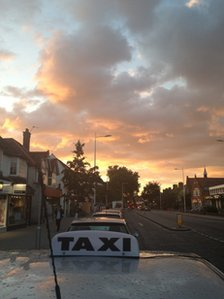 Sunset in Summertown