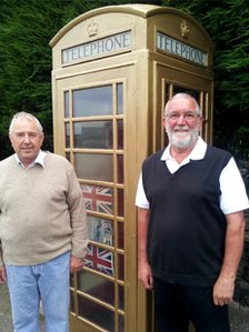Parish councillors Keith Batley and Tony Whitbread