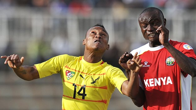 Kenya were knocked out of the 2013 Africa Cup of Nations by Togo