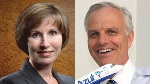Kathleen Taylor and David Neeleman