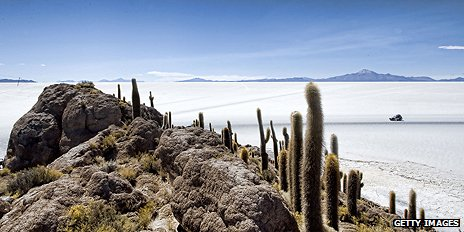 Uyuni salt flats, Bolivia