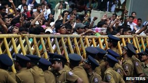 Sri Lanka government shuts down universities
