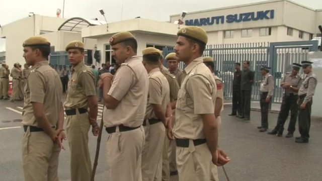 Security at Maruti Suzuki plant