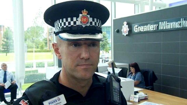 Supt Stuart Ellison of Greater Manchester Police