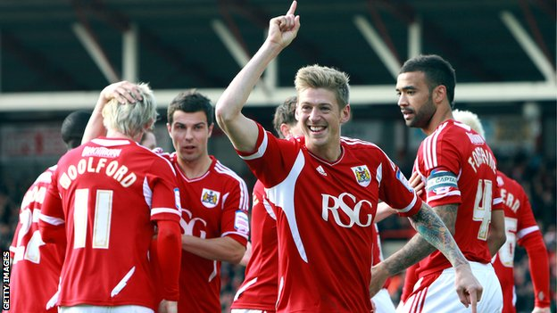 Bristol City striker Jon Stead