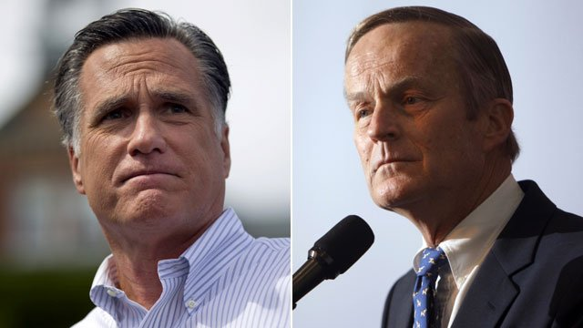 Mitt Romney and Todd Akin